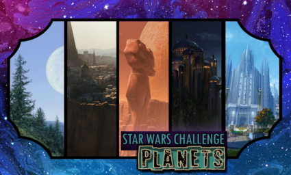 Star Wars Day Challenge: Day 19 - Planets