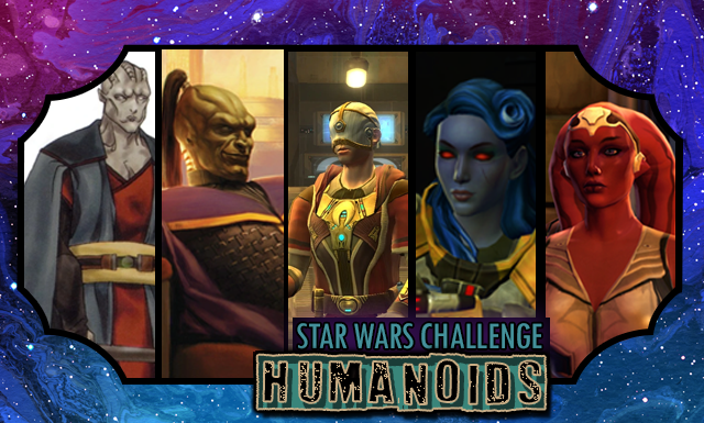 Star Wars Day Challenge: Day 21 - Humanoids