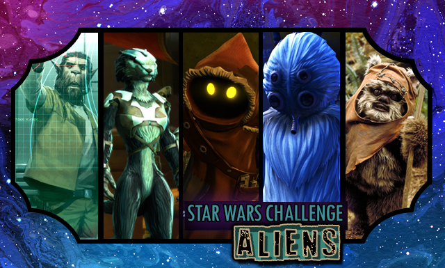 Star Wars Day Challenge: Day 22 - Aliens