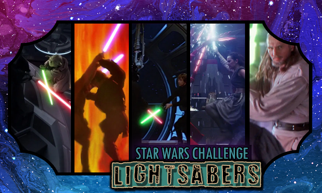 Star Wars Day Challenge: Day 9 - Lightsaber Battles