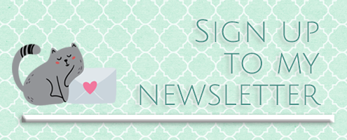 Sign up to my Newsletter! null