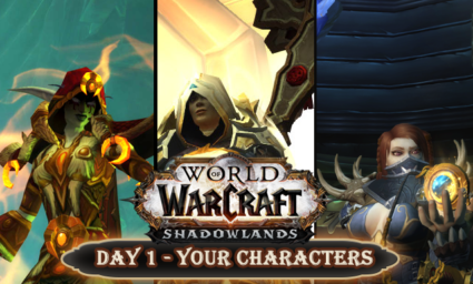 Countdown to Shadowlands Day 1 - 10 facts about my World of Warcraft Characters