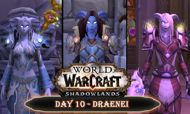 Countdown to Shadowlands Day 8 - Three World of Warcraft Draenei I wish we knew more about