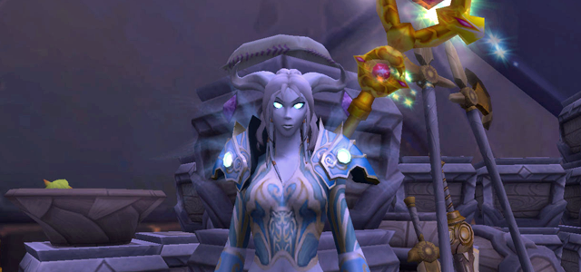 Countdown to Shadowlands Day 8 - Three World of Warcraft Draenei I wish we knew more about: High Priestess Ishanah