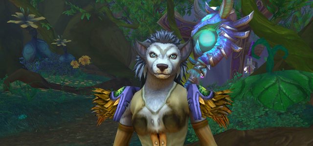 Countdown to Shadowlands Day 12 - My favourite Goblins and Worgen from World of Warcraft: Celestine of the Harvest