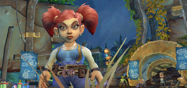 Countdown to Shadowlands Day 13 - Three talented female Gnomes from World of Warcraft: Sapphronetta Flivvers