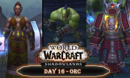 Countdown to Shadowlands Day 16 - My three favourite World of Warcraft orcs