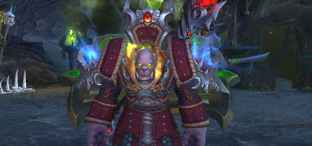 Countdown to Shadowlands Day 16 - My three favourite World of Warcraft orcs - Ritssyn Flamescowl