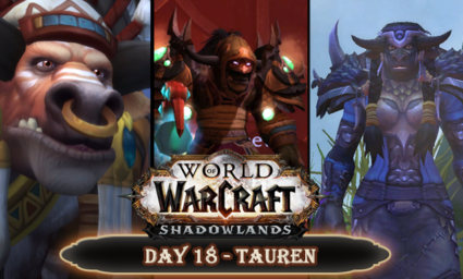 Countdown to Shadowlands Day 18 - Three Tauren characters that I find interesting