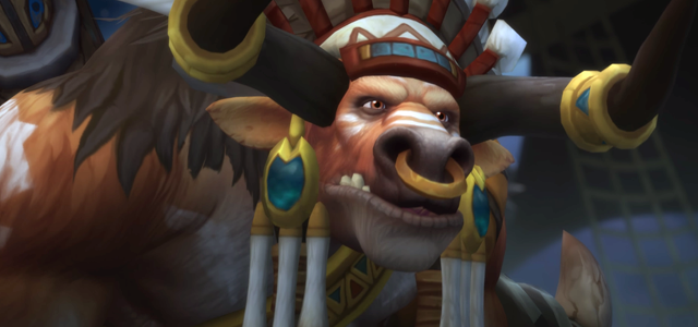 Countdown to Shadowlands Day 18 - Three Tauren characters that I find interesting: Baine Bloodtotem
