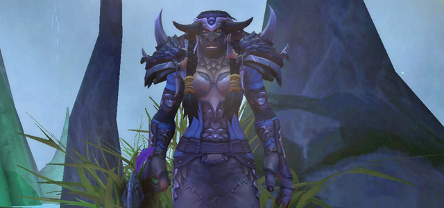 Countdown to Shadowlands Day 18 - Three Tauren characters that I find interesting - Magatha Grimtotem