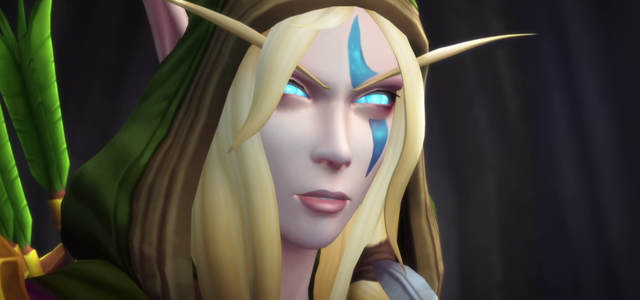 Countdown to Shadowlands Day 21 - My favourite Alliance allied race characters - Alleria Windrunner