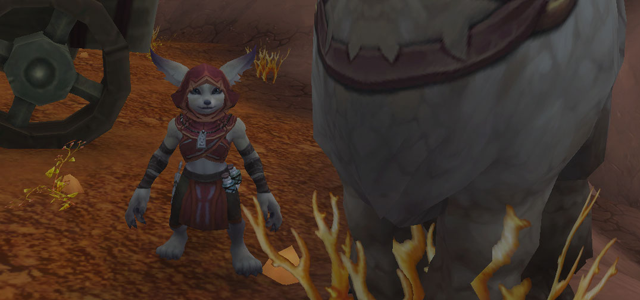 Countdown to Shadowlands Day 22 - My favourite Horde allied race characters: Meerah