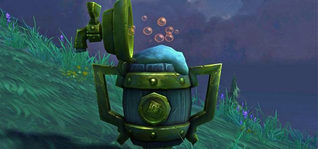 Countdown to Shadowlands Day 27 - Three World of Warcraft Toys that I enjoy & three that I despise: Brewfest Chowdown Trophy
