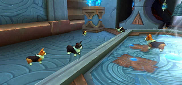 Countdown to Shadowlands Day 27 - Three World of Warcraft Toys that I enjoy & three that I despise: Overtuned Corgi Goggles