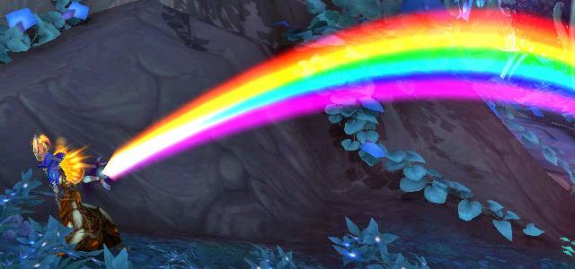 Countdown to Shadowlands Day 27 - Three World of Warcraft Toys that I enjoy & three that I despise: Rainbow Generator