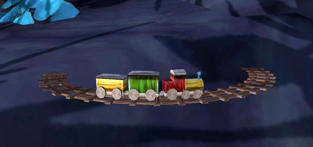 Countdown to Shadowlands Day 27 - Three World of Warcraft Toys that I enjoy & three that I despise: Toy Train Set