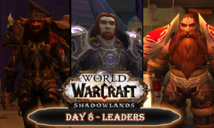Countdown to Shadowlands Day 8 - Three World of Warcraft leaders I respect and admire