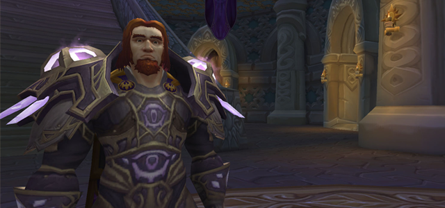 Countdown to Shadowlands Day 8 - Three World of Warcraft leaders I respect and admire: Rhonin