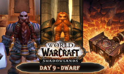 Countdown to Shadowlands Day 9 - Three awesome Dwarves from World of Warcraft